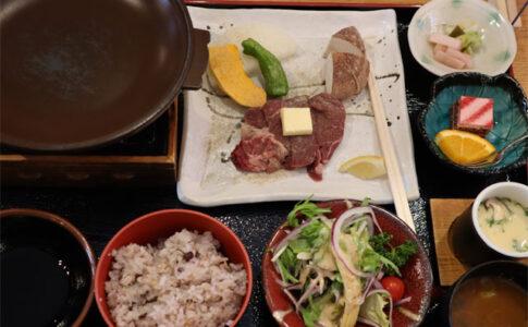 和食処なかつ川のひれステーキ膳