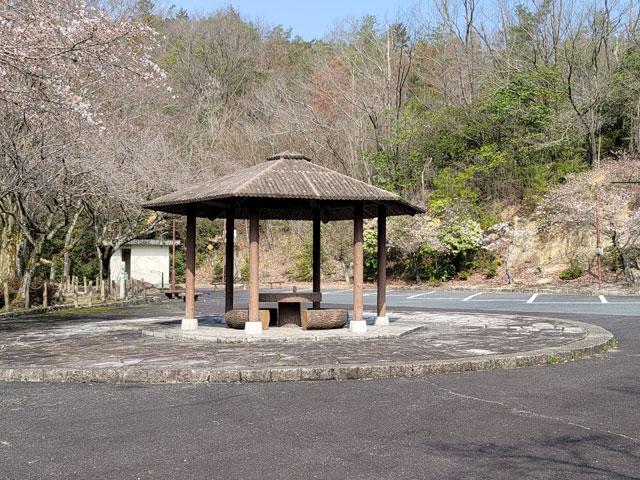 星ヶ見公園駐車場(3月26日撮影)
