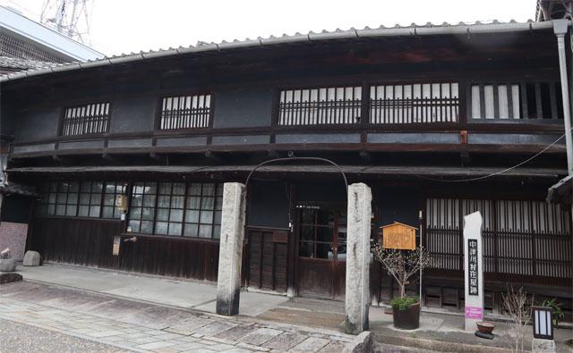 中津川庄屋跡(曽我家住宅)