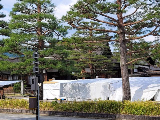 高山陣屋と朝市