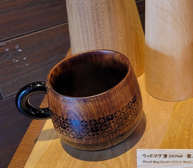 ウッドマグ漆ブラック(JIMOTO made Series