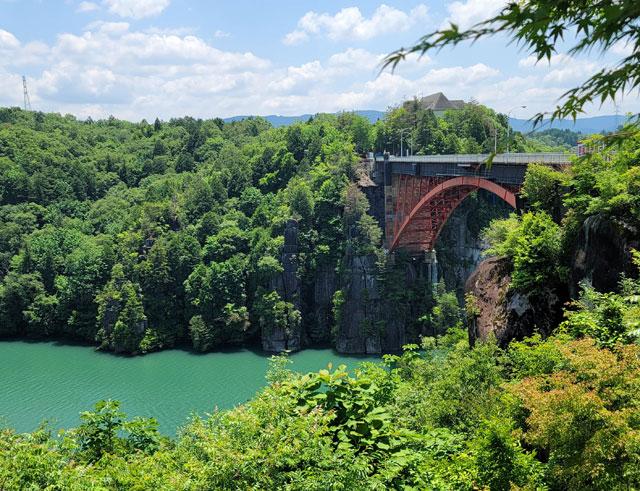 恵那峡大橋(えなきょうおおはしはし)好きな岐阜の橋ランキング2位