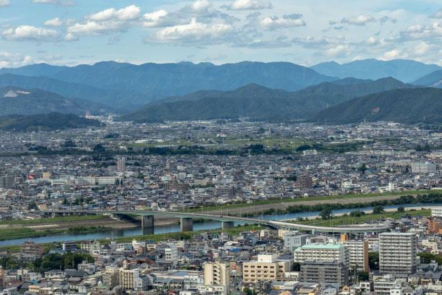 大縄場大橋(好きな岐阜の橋ランキング10位)