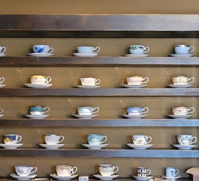 ウエッジウッドのコーヒーカップ