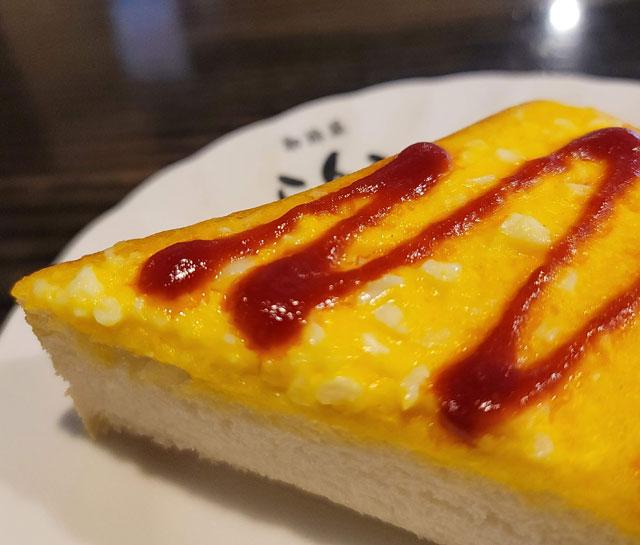 モーニングについてくるエッグトースト