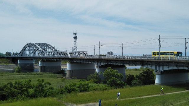 忠節橋(好きな岐阜の橋ランキング1位)