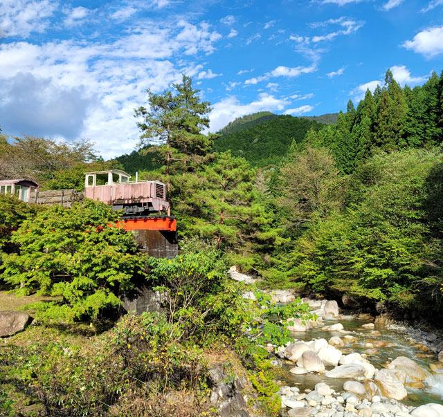 木曽森林鉄道139号